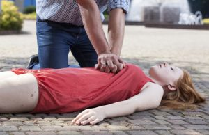 Knowing how to recognise the signs of sudden cardiac arrest is the first step. The second is knowing what to do to keep the patient alive before medical services arrive.