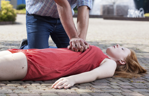 Unconscious, unresponsive, not breathing normally: how to spot sudden cardiac arrest