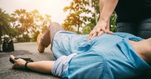 The best chance of survival after a sudden cardiac arrest is achieved when someone nearby is willing to step in early with CPR and defibrillation