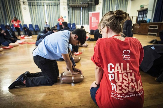 Teaching AED awareness in schools is just the start