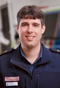 Mike Ray, Ambulance Victoria
