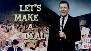 The host of Let's Make a Deal, Monty Hall